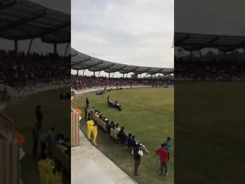International Cricket Stadium DEHRADUN UTTARAKHAND First Opening Cricket Match Live Video