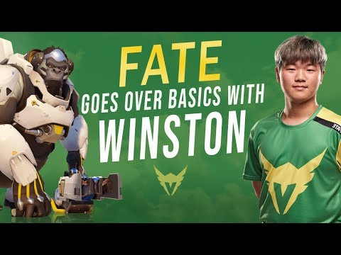 Basic Winston Tips with Fate | How to Play Overwatch Pro