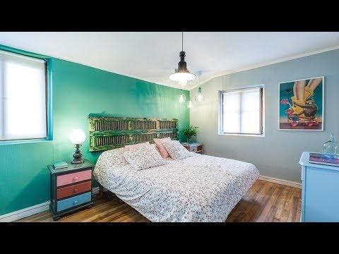 Decorar dormitorio juvenil con muebles reciclados - Programa completo - Decogarden
