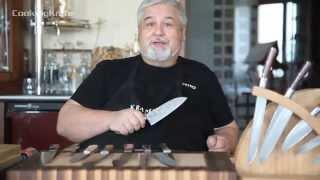 видео Керамические ножи для кухни: выбор кухонных ножей из керамики