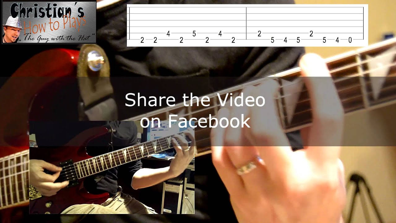 How To Play Crazy Train Ozzy Osbourne Revival Tabs Chords Lesson