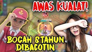 DIBULLY BOCAH SD 8 TAHUN PAKE FANNY !! LANGSUNG KUALAT !