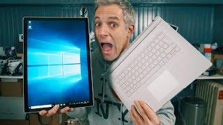 Voici le PC portable tout terrain de Microsoft ! Microsoft Surface ...