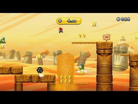 New Super Mario Bros. U -- No-Cash Dash (Gold Medal)