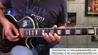 Cours de guitare - Paranoid solo (Black Sabbath)