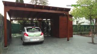 Garajes de madera pergomadera 2011 - Garajes para coches ...