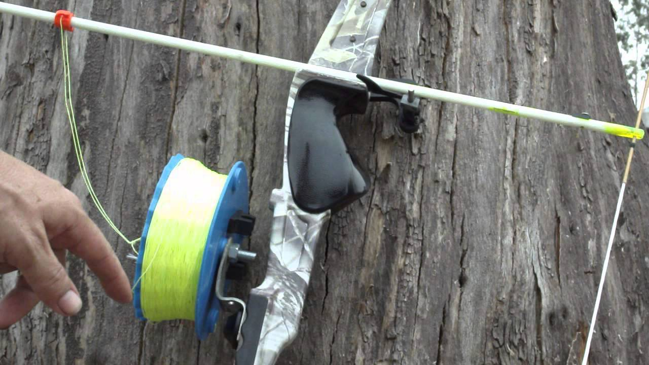 Bowfishing australia cheap chinese 48 lb bow modify for How to reel in a fish