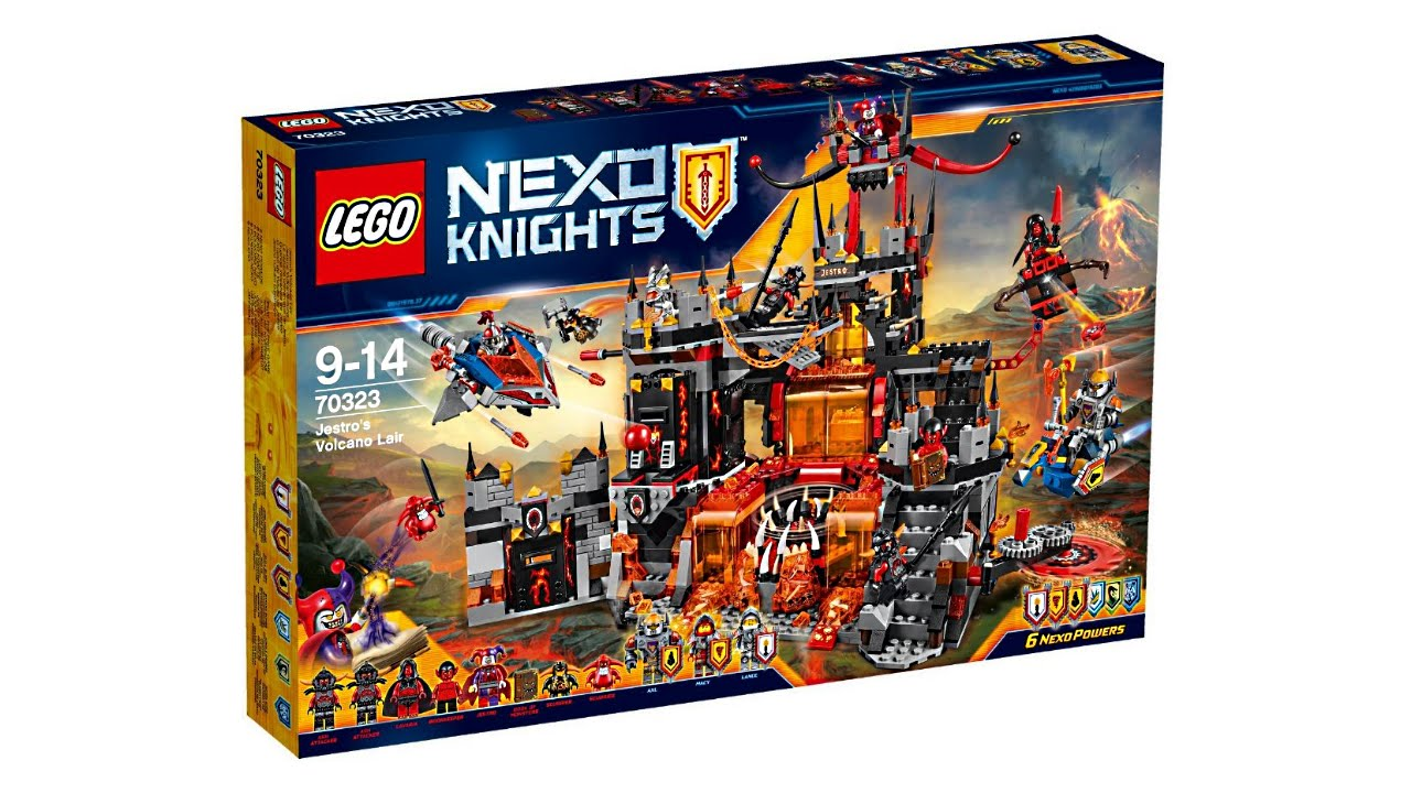 Lego Nexo Knights 2016 Summer Sets Pictures Youtube
