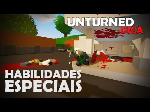 Unturned Dica: Habilidades Especiais (Random Boost)