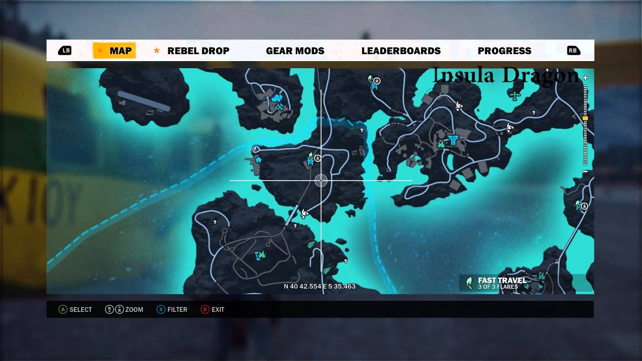 Just Cause 3 Undiscovered Locations Settlements Youtube