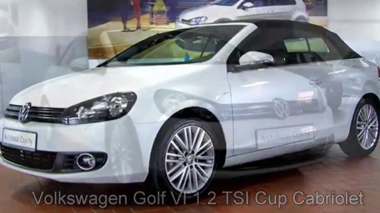 volkswagen golf vi cabriolet cup 1 2 tsi oryxwei. Black Bedroom Furniture Sets. Home Design Ideas