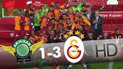 Akhisarspor - Galatasaray Final Maçının Özeti