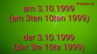 Temporale Präpositionen und Ausdrücke - Deutsch lernen - wann? In, an, zu, vor, nach, bei, um, gegen