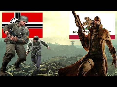 Gmod NPC Wars: New California Republic vs Nazi Germany