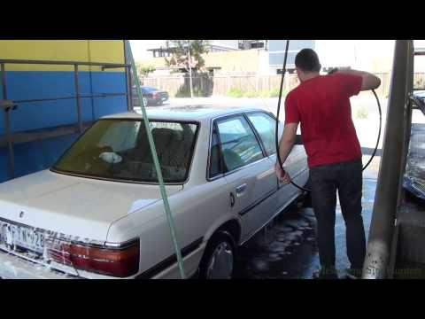 How To Use Self Serve Car Wash - Clean the Car For $3