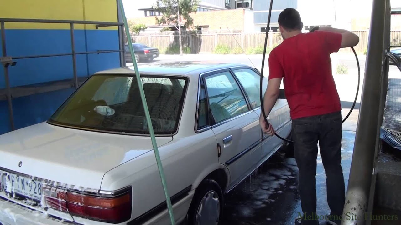 How to use self serve car wash clean the car for 3 youtube solutioingenieria Choice Image