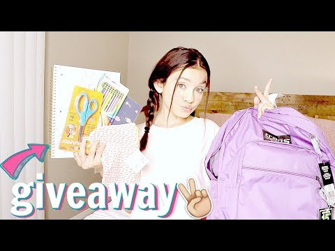 Back to School Supplies Shopping Haul 2019 GIVEAWAY | Target