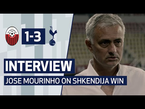 INTERVIEW | JOSE MOURINHO ON SHKËNDIJA WIN