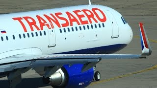 [HD] Transaero A321 First flight to Paris Orly !