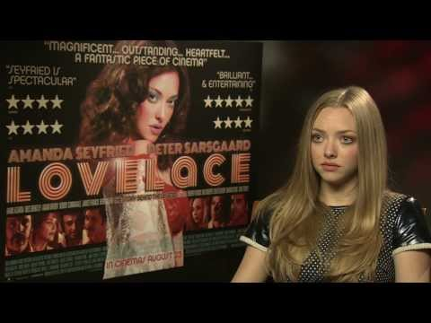 """Amanda Seyfried on playing Linda Lovelace: """"There was a real woman behind all that shit"""""""