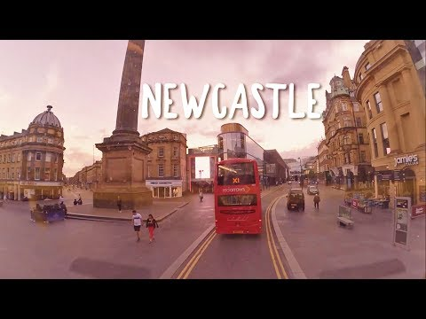 Mini Tour of Newcastle from the Bus!