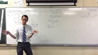 Indeterminate Partial Sums (2 of 2: Using the sum formula)