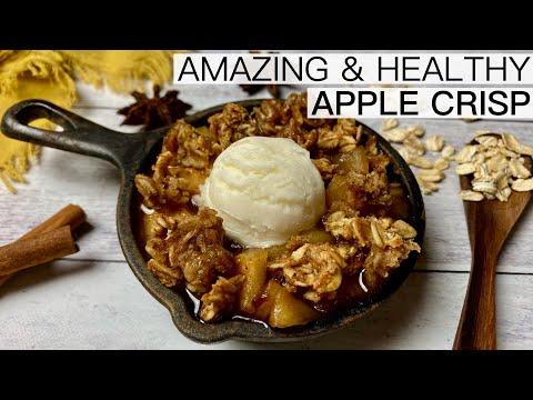 THE BEST HEALTHY APPLE CRISP RECIPE