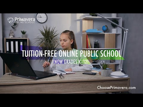 Primavera Online Schools | Enrolling Now Grades K–12