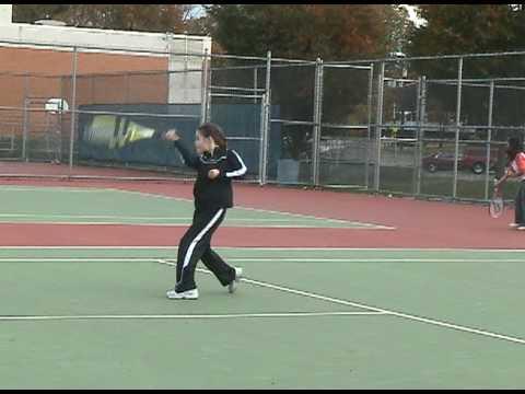 Talia Shapira Tennis Lesson Oct 2009 Clip3