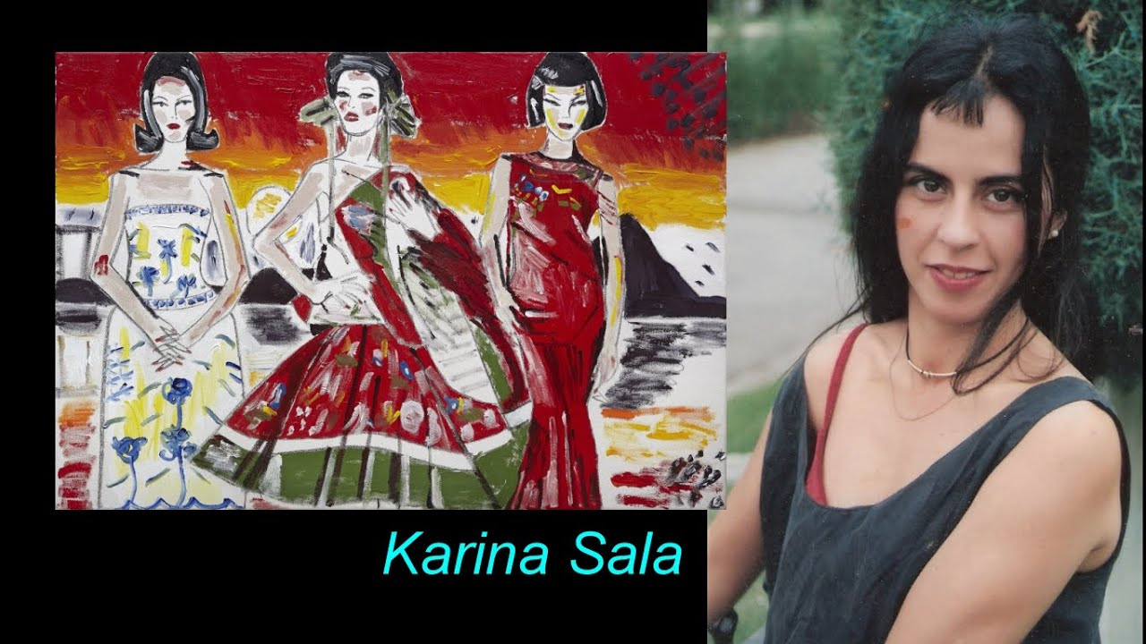 Karina Sala / co-curated numerous group shows of emerging and well known visual artists.