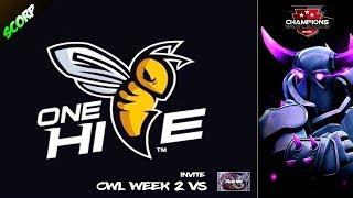 CWL Invite - OneHive vs Art Of War - Champions War League Week 2