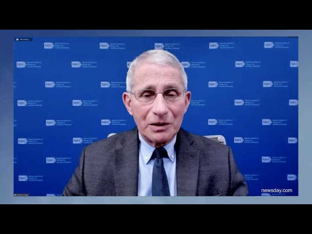 Dr. Anthony Fauci answers LIers\' questions about COVID-19 vaccines