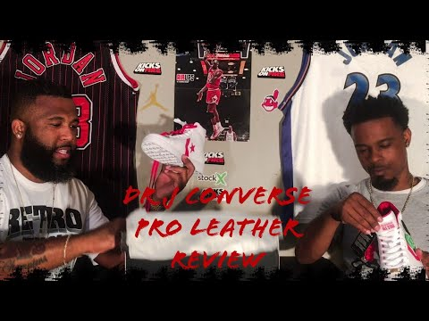 d4f272f9c43 Converse Pro Leather The Scoop Dr J Review - YouTube