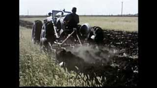 Film Footage of Tandem Tractors, Iowa State University (circa 1959)