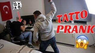 TATTOO PRANK an TÜRKISCHEN VATER ESKALIERT !!!😡🇹🇷