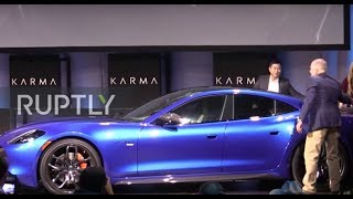 USA: Karma Automotive unveils SC2 concept car and new Revero GTS