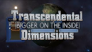 Transcendental Dimensions - Update #1 - Real Minecraft TARDIS