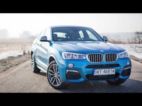 BMW X4 M40i TEST PL Pertyn ględzi