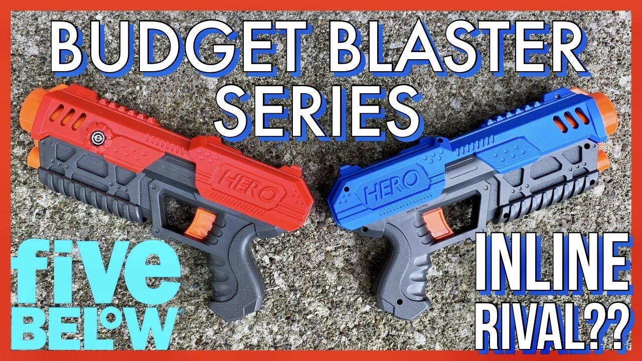 Five Below Hero Ball Blaster - Blasting on a Budget #1 [4K]