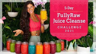 JOIN THE 5-DAY JUICE CLEANSE CHALLENGE! Best Detox, Healing, Wellness & Weight-loss Program...