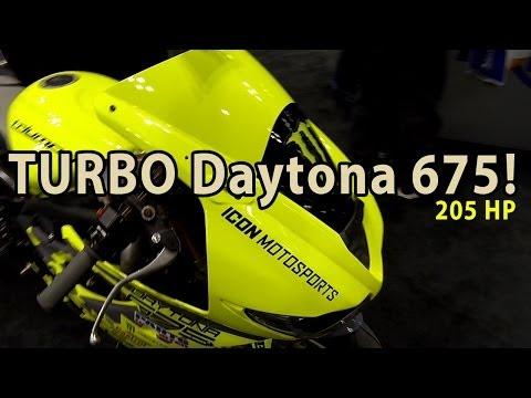 Triumph Daytona  TURBO with HP! Driftpocalypse!