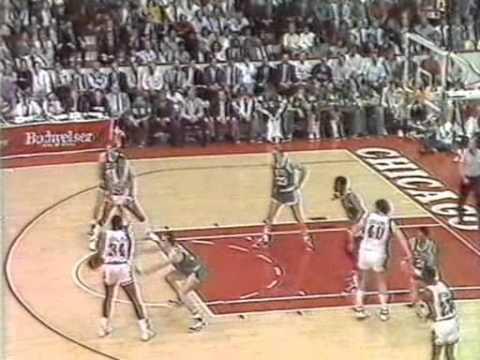 Chicago Bulls-Boston Celtics Game 3 Highlights: 1987 Playoffs Round 1