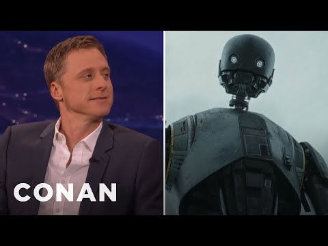 Alan Tudyk: K2SO Almost Had A Cockney Accent  CONAN on TBS