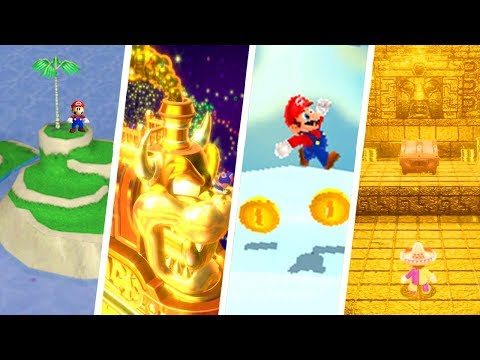 Evolution of Secret Bonus Levels in Super Mario Games (1985 - 2018)
