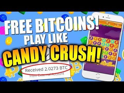 FREE BITCOINS! Play Like Candy Crush!