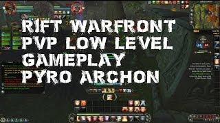 Rift Warfront PvP Low level gameplay Pyro/Archon Mage