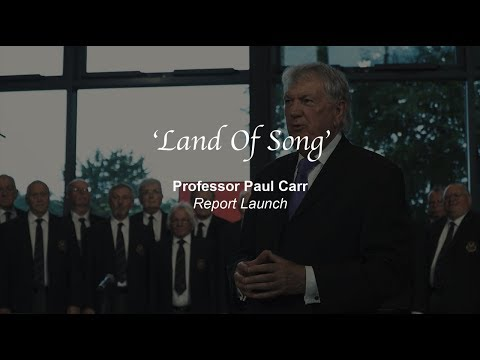 'Land Of '  Paul Carr's Report Launch