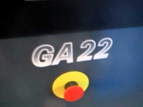 Atlas Copco GA22 30HP air compressor 2006