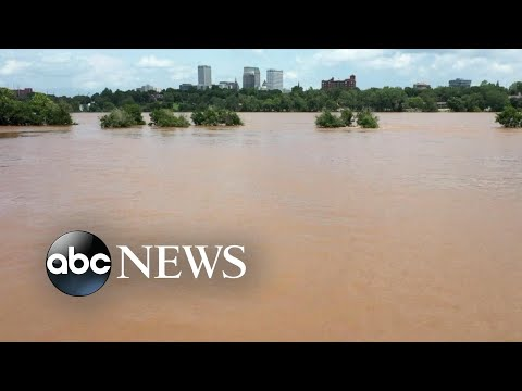 Flooding threatens Memorial Day travel across the US