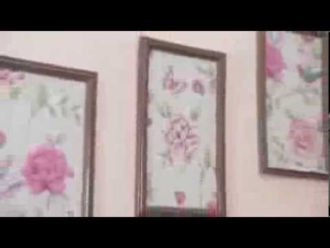 How To Decorate With Wallpaper Panels Youtube